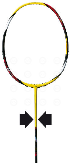Yonex Super Slim Shaft Badminton Racquet Technology