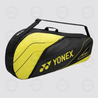 Yonex Team 3 Racquet Bag 4923 - Black Lime - Full