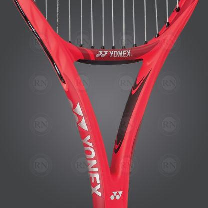 Yonex VCORE 100 Tennis Racquet - Red - 280g - Throat