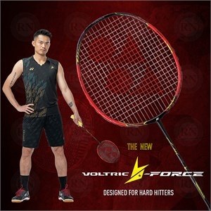 Poster for Yonex Voltric Lin Dan Force Crystal Red