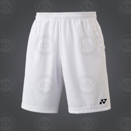Yonex Men's TEAM Short YM0004EX White