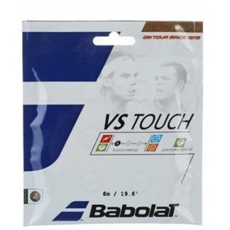 Babolat VS Touch Natural Tennis String - Half Set - 16 Gauge