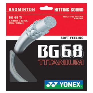 YONEX BG68 TI BADMINTON STRING