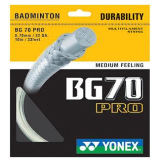 YONEX BG70 PRO BADMINTON STRING